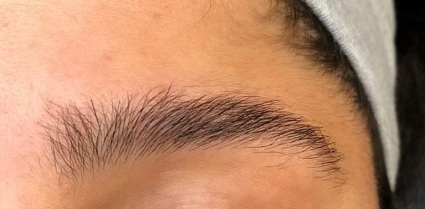 Eyebrow Shape Before